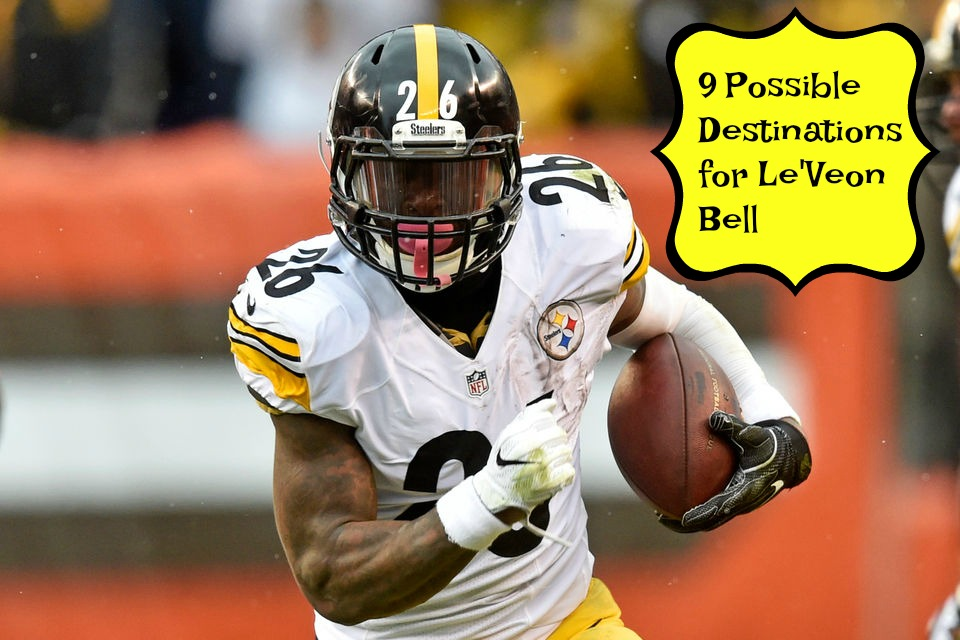 9 Possible Destinations for LeVeon Bell