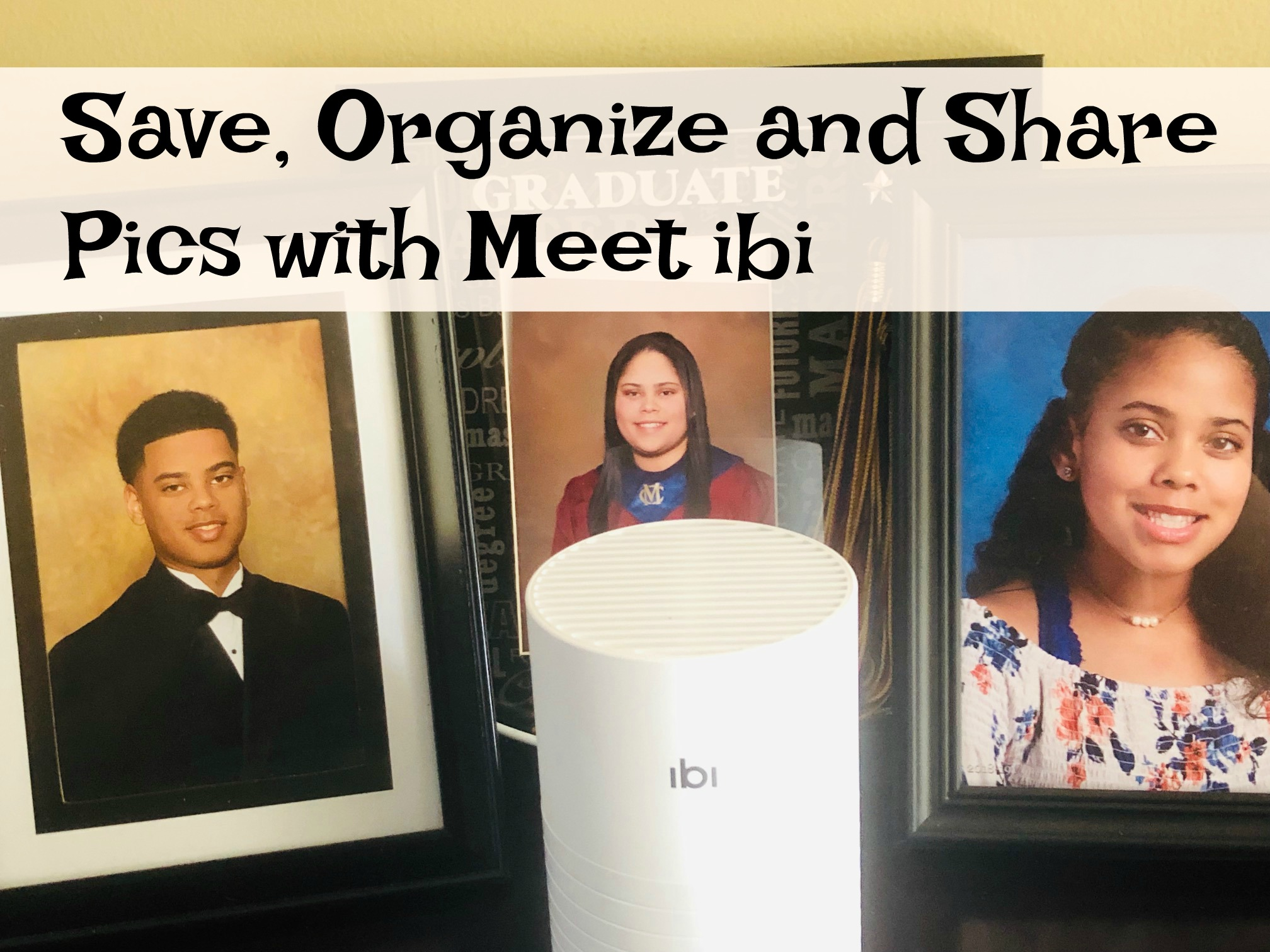 Save, Organize and Share Pics with Meet ibi