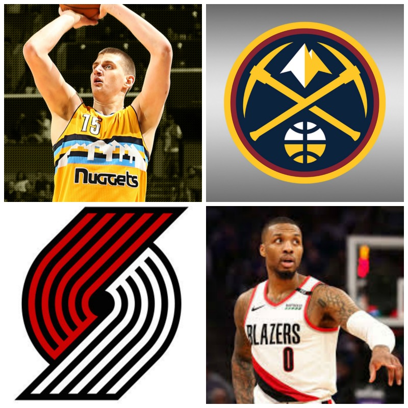 2019 NBA West Semifinal: Denver Versus Portland