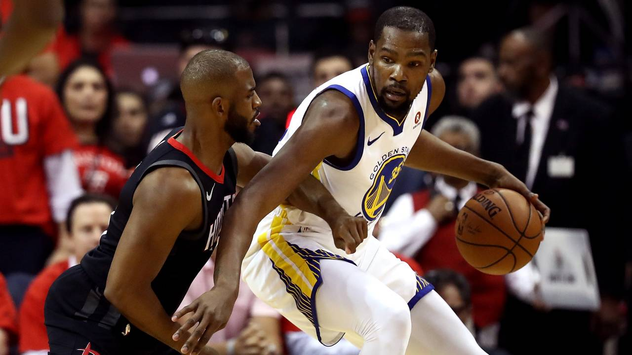The Golden States Warriors Edge Rockets in Game 1
