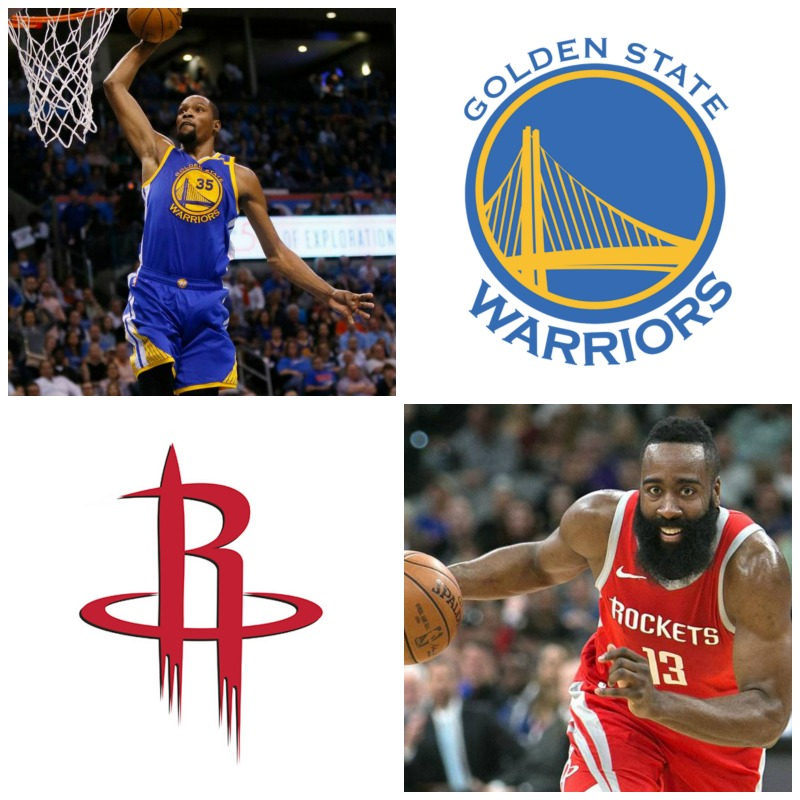 2019 NBA West Semifinal: Golden State Versus Houston