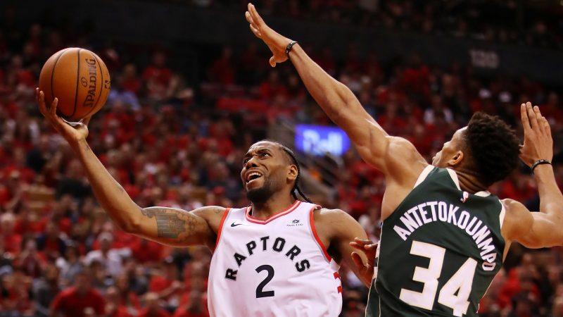 Raptors Top Bucks in Double OT in Game 3
