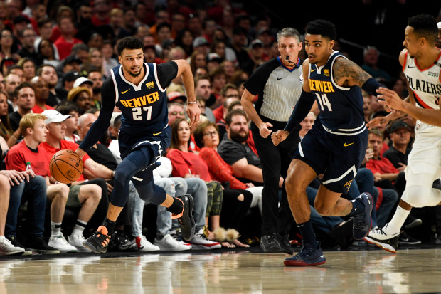 Nuggets Tie Series on the Road Against Portland