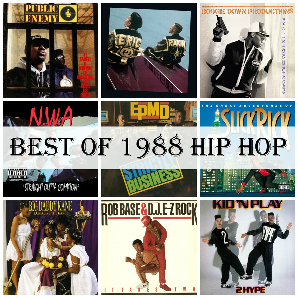 Best of 1988 Hip Hop