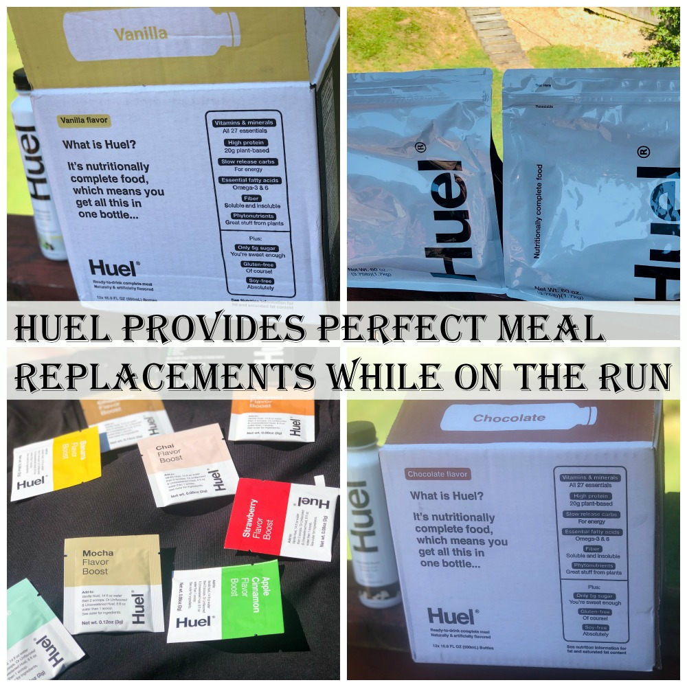 Huel Provides Perfect Meal Replacements While on the Run