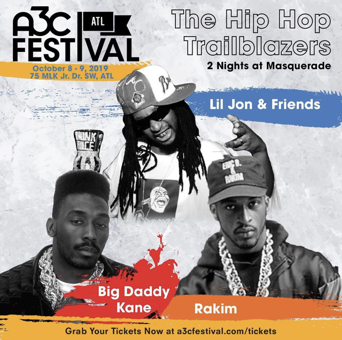 Lil Jon & 2 Hip Hop Legends Added to A3C Festival