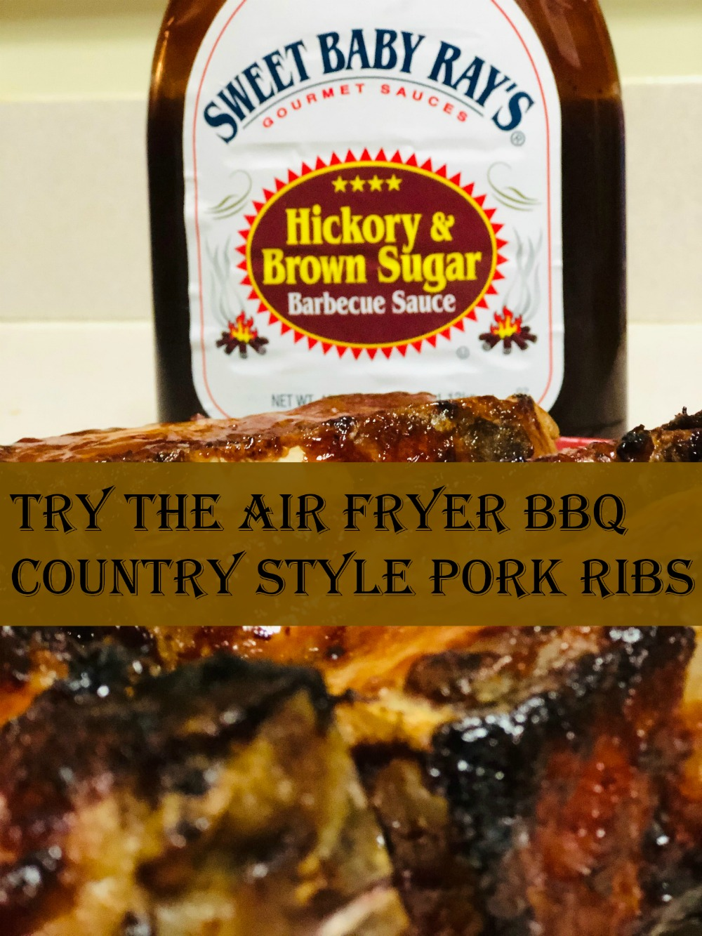 Try the Air Fryer BBQ Country Style Pork Ribs