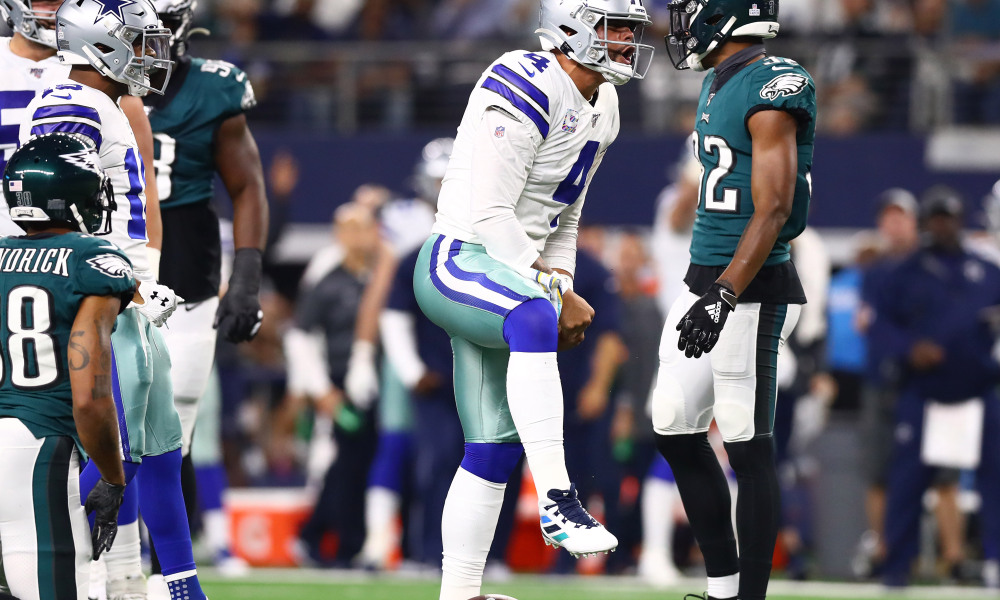 Cowboys Dominate Eagles to Take Control of NFC East