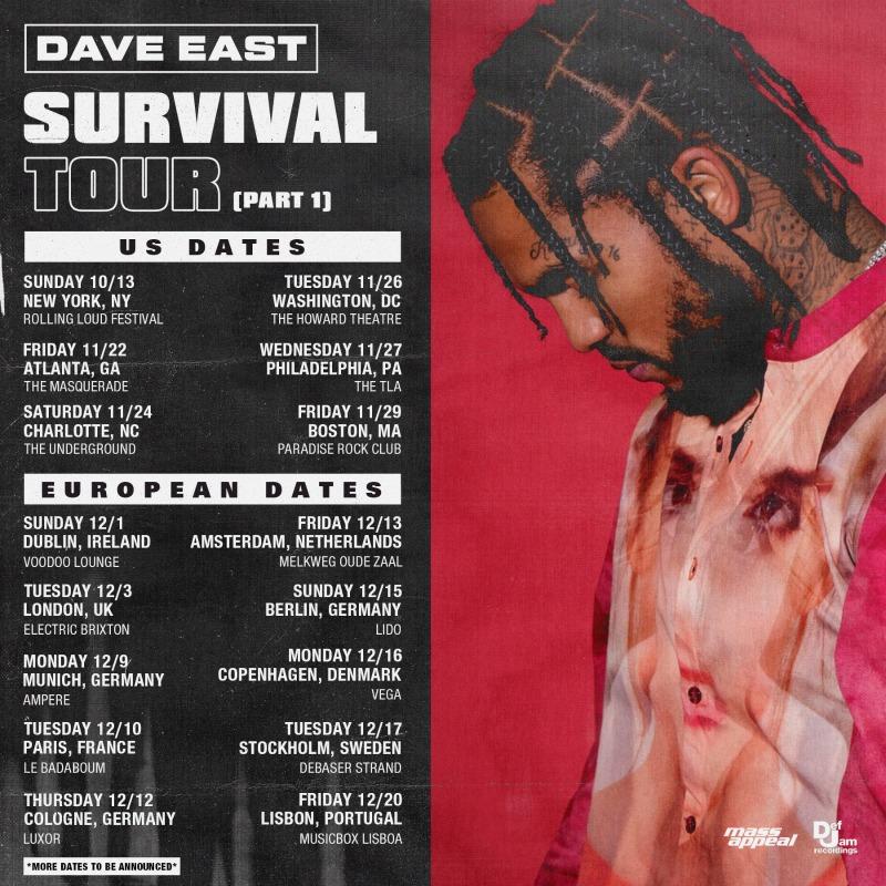 Dave East Announces Survival Album Due on November 8th