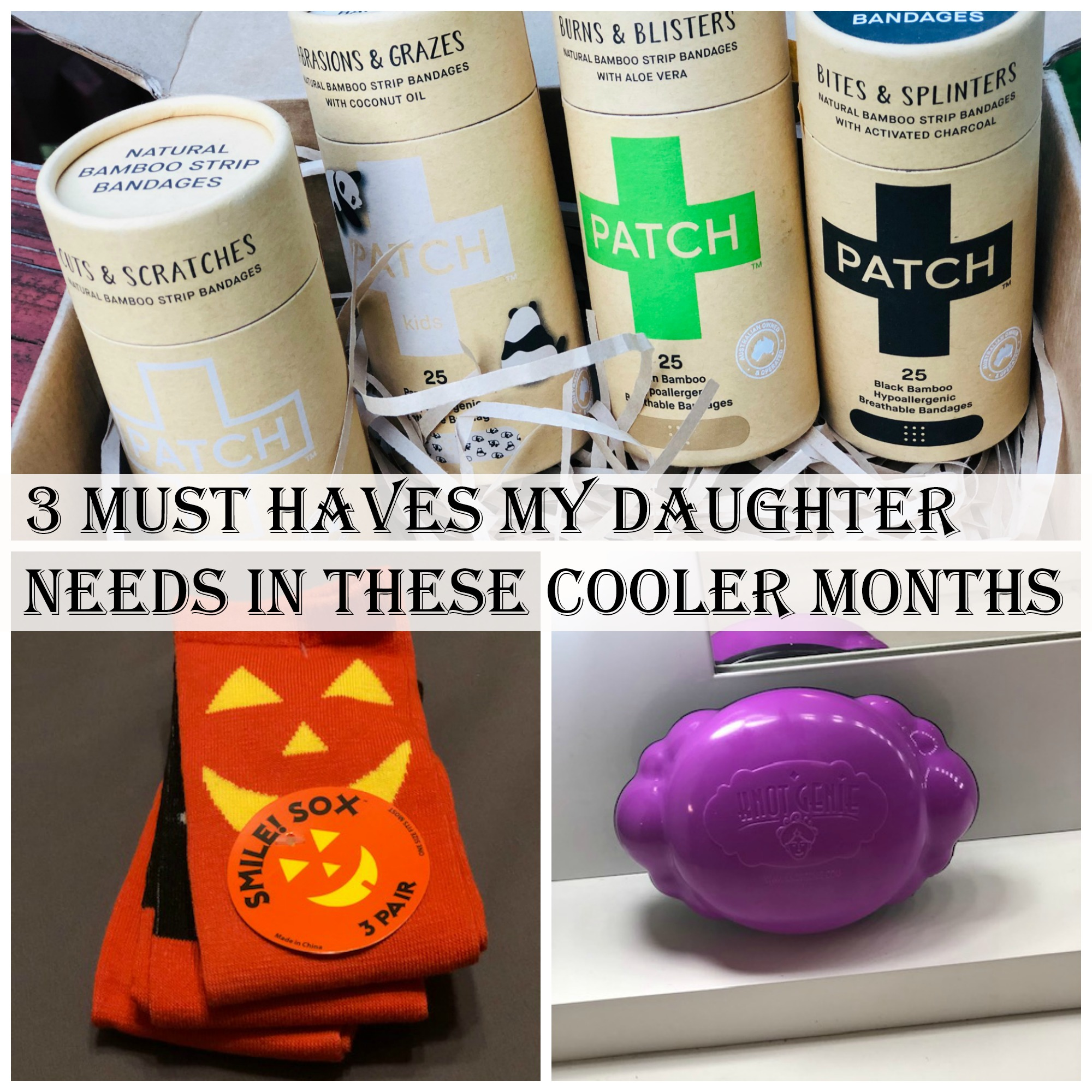 3 Must Haves My Daughter Needs in These Cooler Months
