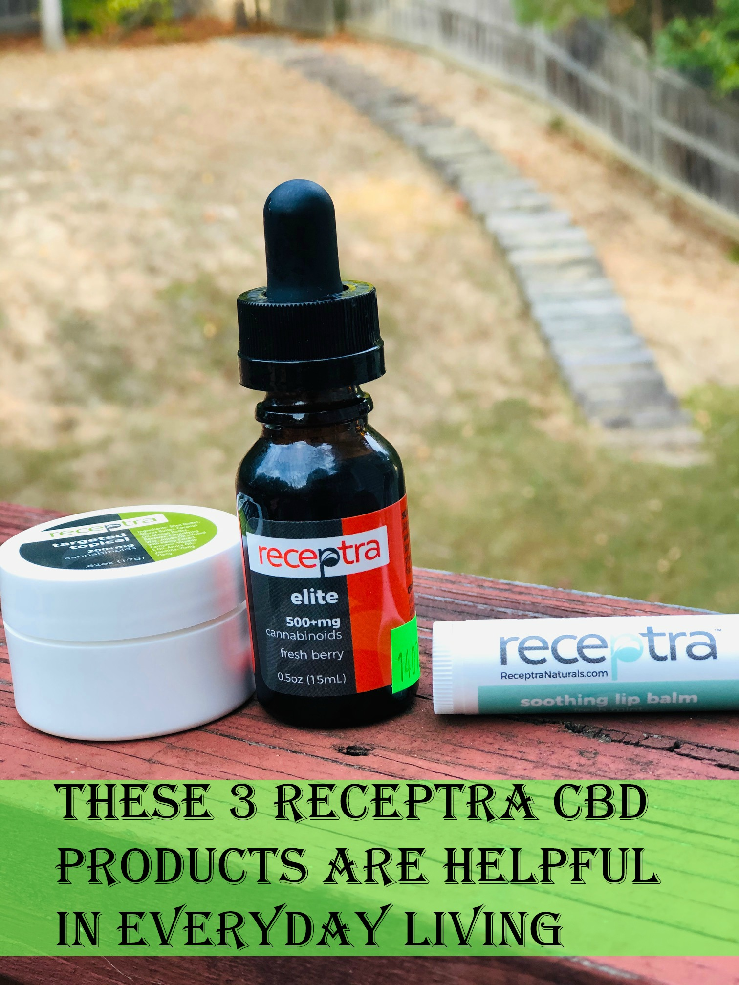 These 3 Receptra CBD Products Are Helpful in Everyday Living