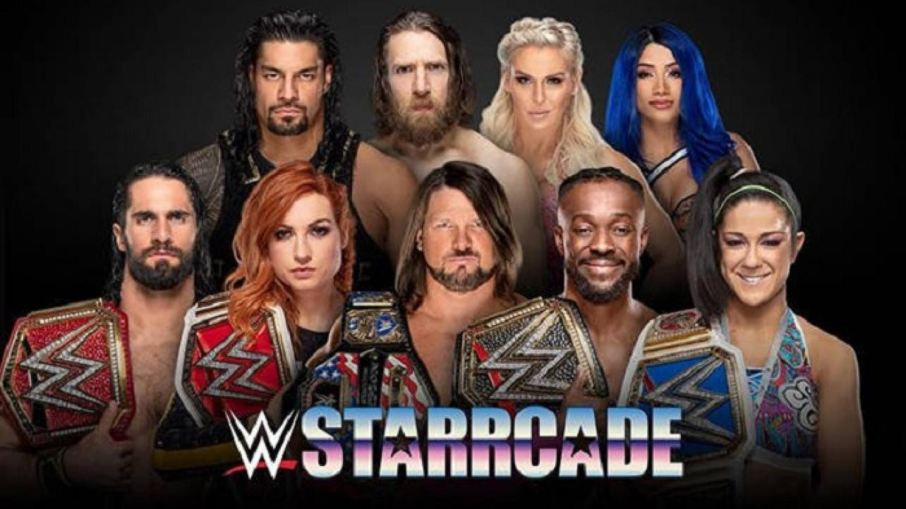 WWE Starrcade Comes to Infinite Energy Arena This Sunday