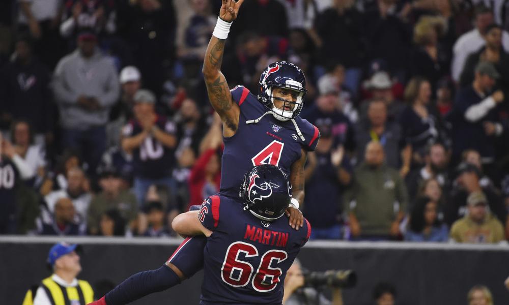The Houston Texans Defeated Patriots on Sunday Night