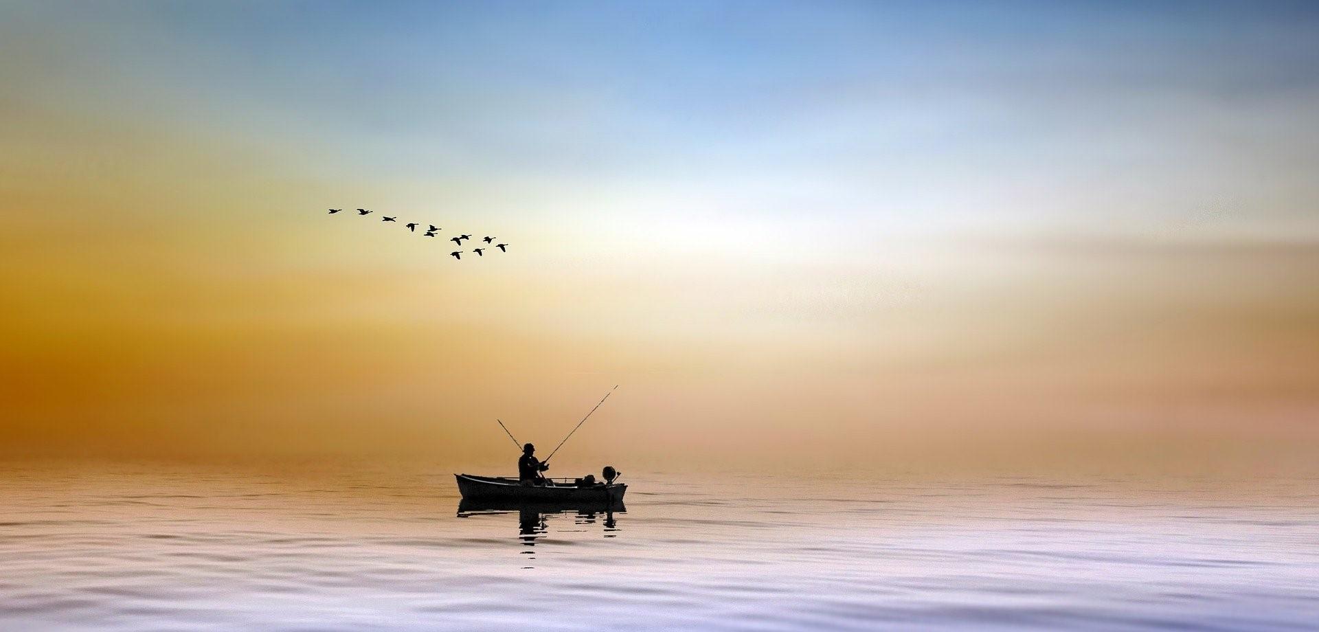 Fisherman Big and Small Meet in Philadelphia