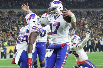 Bills Beat Steelers in Defensive Battle Sunday Night
