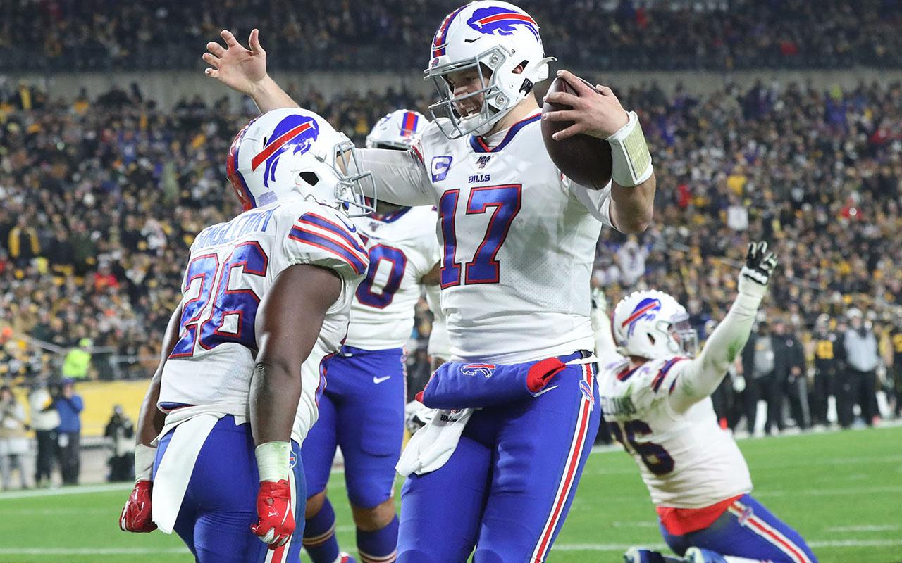 Bills Beat Steelers in Defensive Battle Sunday Night