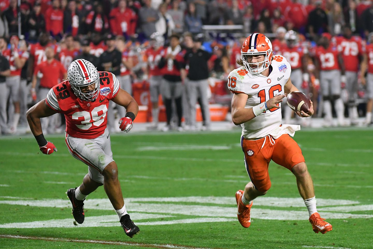 Clemson Beats Ohio State to Advance to Title Game