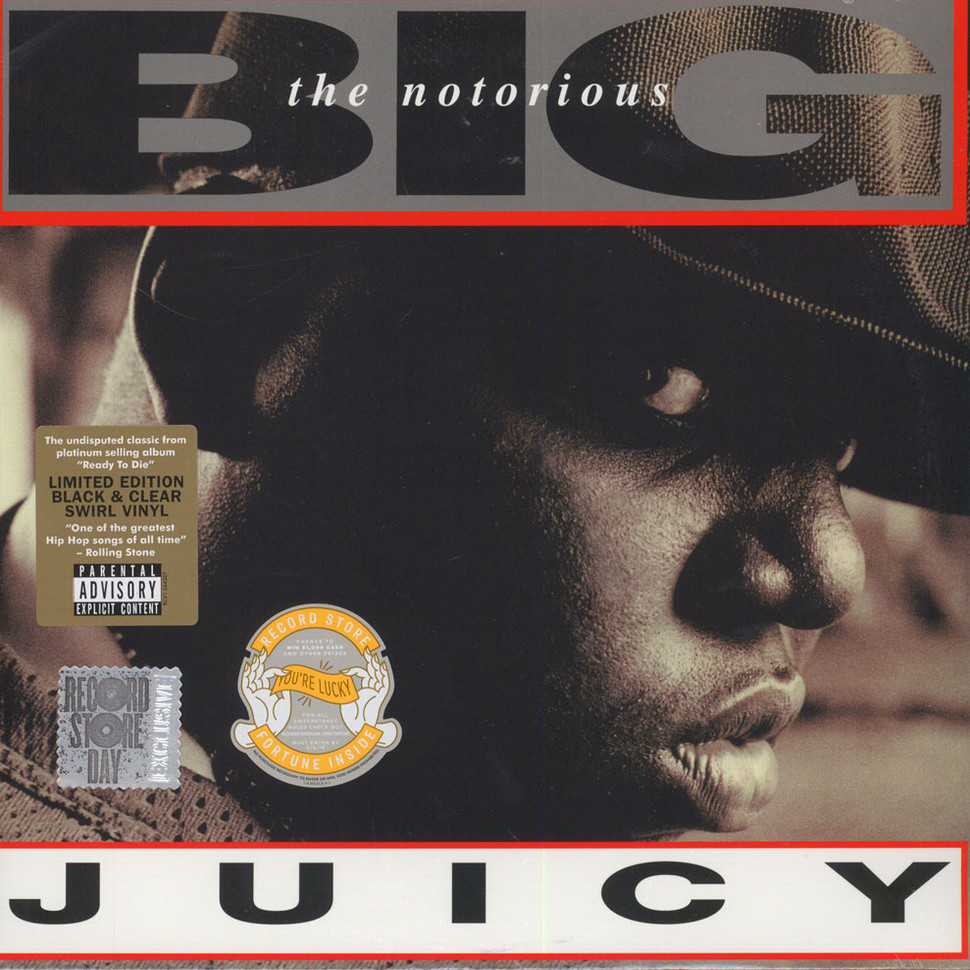 Notorious Big Juicy for Throwback Thursday