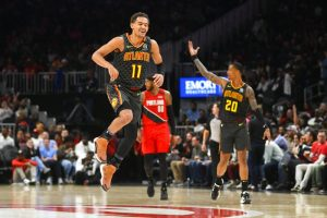 Hawks Beat Blazers to Win Consecutive Games Behind Young Core