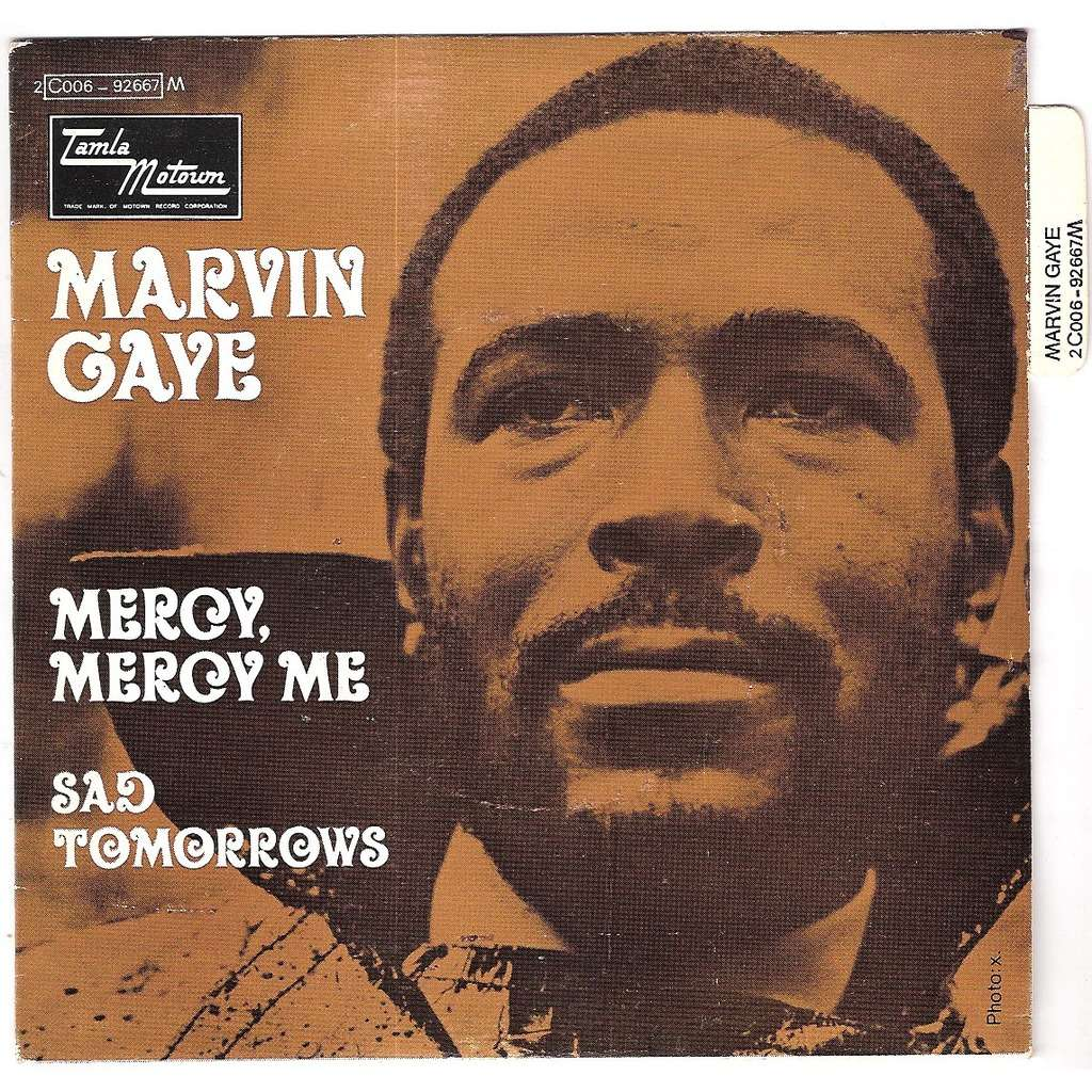 Marvin Gaye Mercy Mercy Me for Throwback Thursday