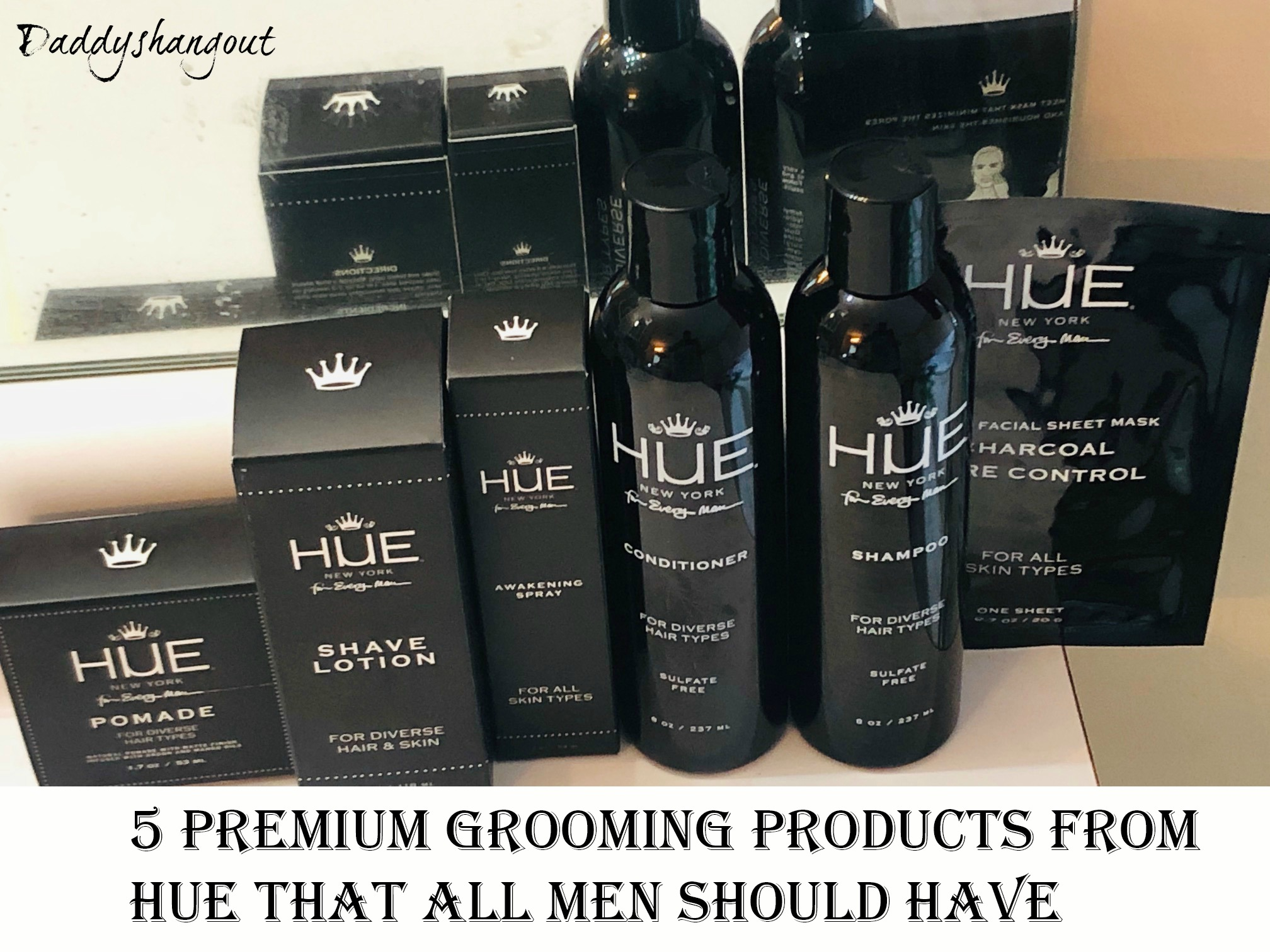 5 Premium Grooming Products from Hue That All Men Should Have