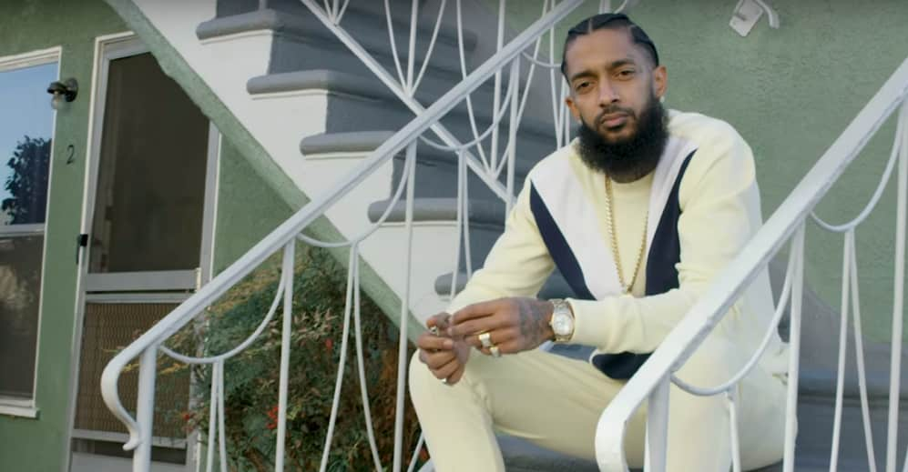 Nipsey Hussle Victory Lap for Throwback Thursday