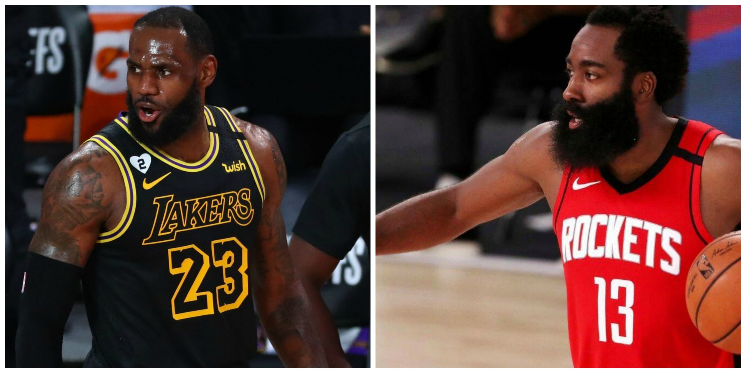 Lakers Versus Rockets in 2020 Western Conference Semifinals
