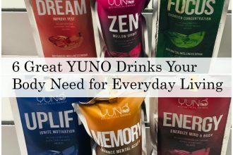 6 Great YUNO Drinks Your Body Need for Everyday Living