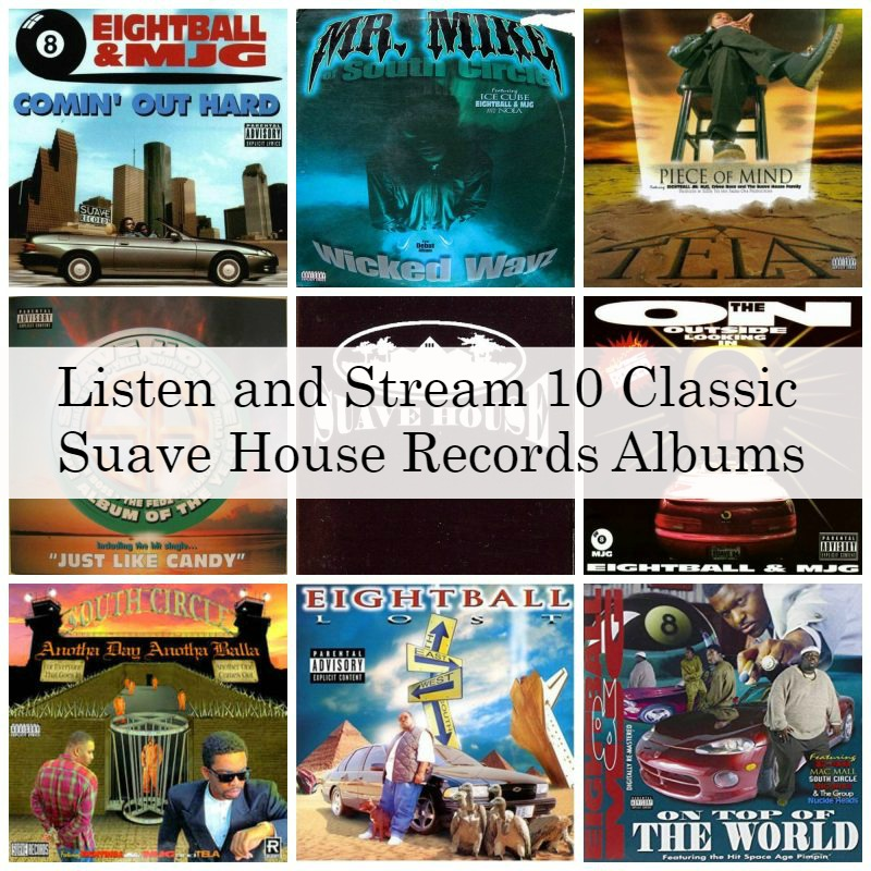 Listen and Stream 10 Classic Suave House Records Albums