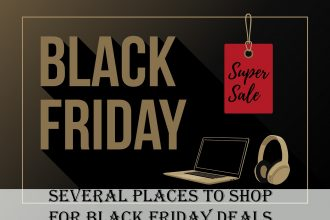 Several Places to Shop for Black Friday Deals