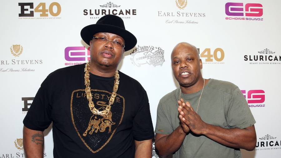 E40 Too Short Rapper's Ball for Throwback Thursday