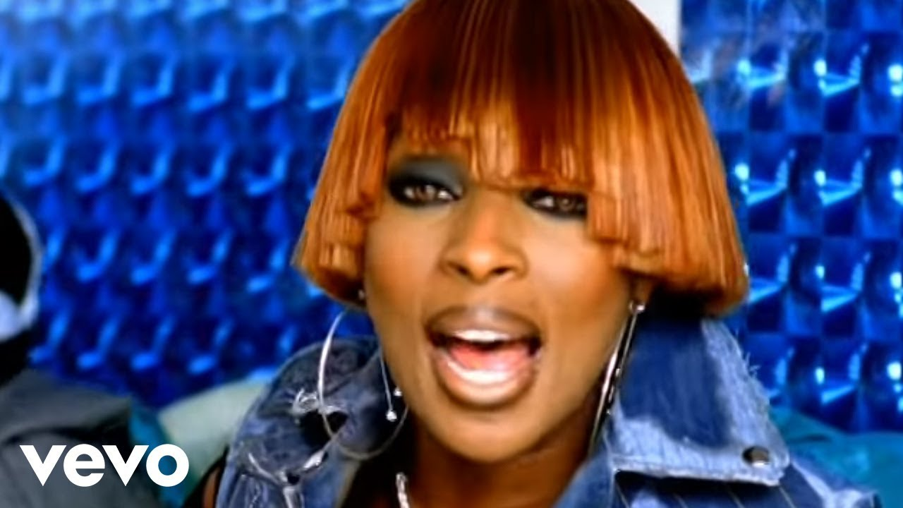 Mary J. Blige Family Affair for Throwback Thursday