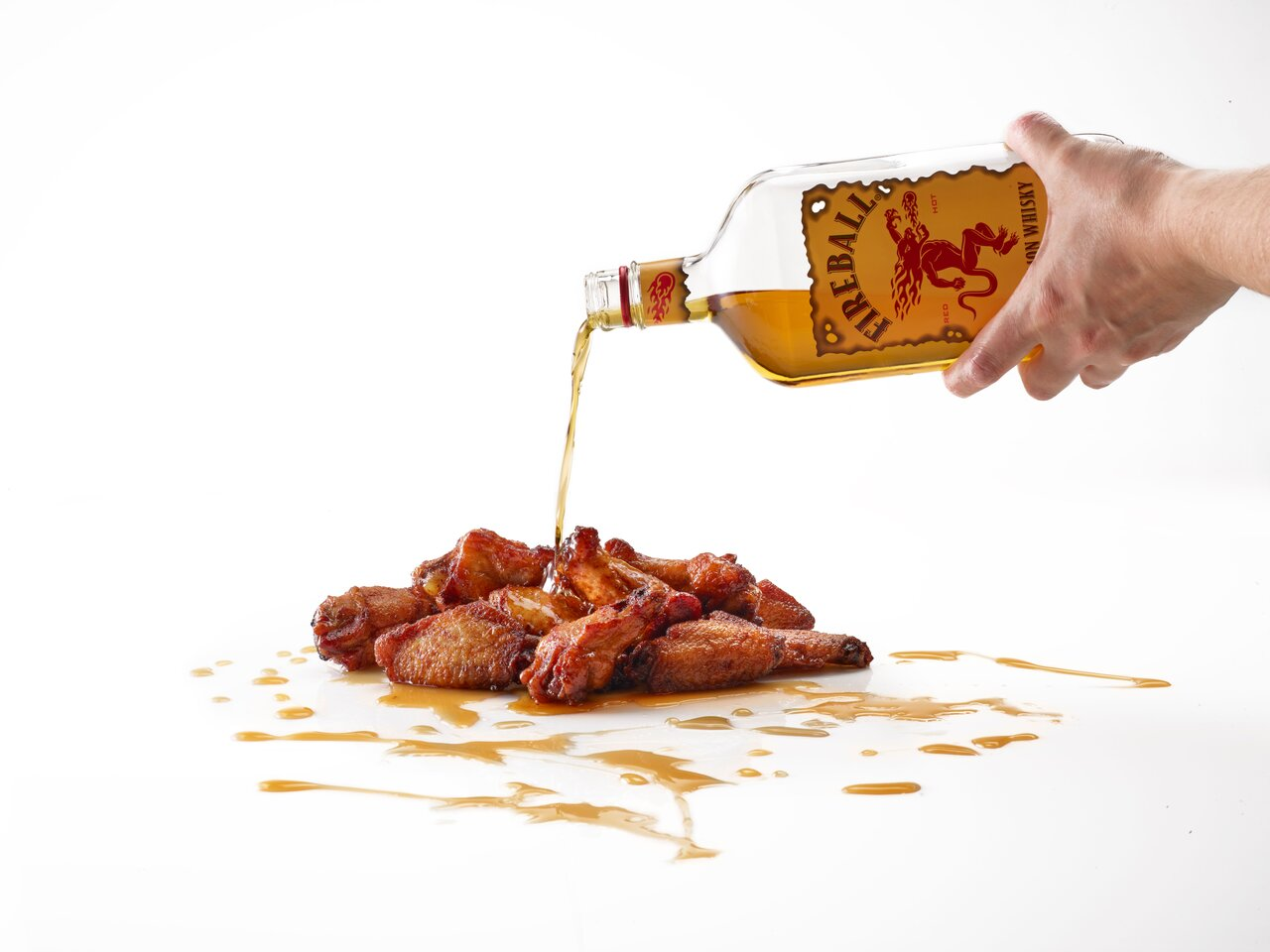 Smokey Bones Adds Fireball Whisky Wings to its 51 Flavor Wings